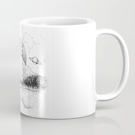 Outer Space Invasion Coffee Mug