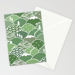 Rolling Green Hills Stationery Cards
