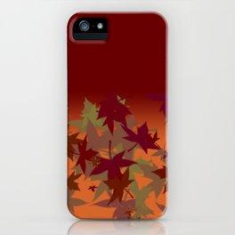 Colors of Fall Autumn Design iPhone Case