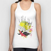 howl Tank Tops featuring Howl  by Stephanie Trevania