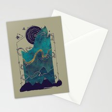Northern Nightsky Stationery Cards