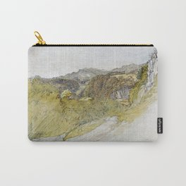 12,000pixel-500dpi - Samuel Palmer - The Valley Of Dolwyddelan - Digital Remastered Edition Carry-All Pouch
