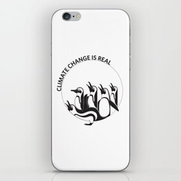 Climate Change is Real iPhone Skin