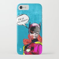 batgirl iPhone & iPod Cases featuring Batgirl by Ed Pires