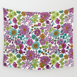 Ravel Floral Wall Tapestry