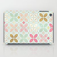 moroccan iPad Cases featuring MOROCCAN TILE by Monika Strigel