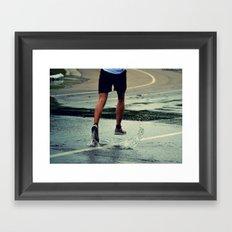 Run Forest, Run! Framed Art Print