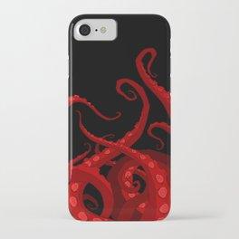 Subterranean Red iPhone Case
