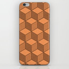 Sand Cubes iPhone Skin
