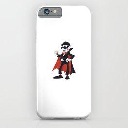 Funny Vampire Dracula Coffee Lovers Sleepy Head Night Owl Gift Morning Sucks iPhone Case