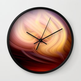 socium twirls Wall Clock