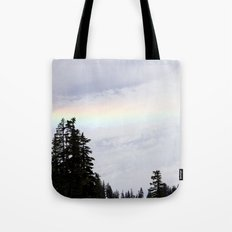 Mountaintop Rainbow Tote Bag