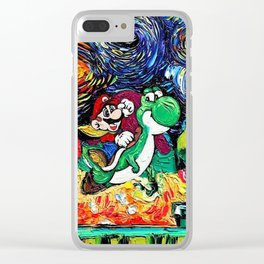 When Vincent van Gogh's Iconic Painting 'the Starry Night' Meets Pop Culture Clear iPhone Case