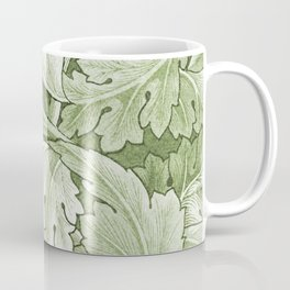 Celery Green Acanthus Plant Coffee Mug
