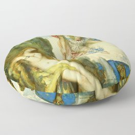"""Gustave Moreau """"Perseus And Andromeda"""" Floor Pillow"""
