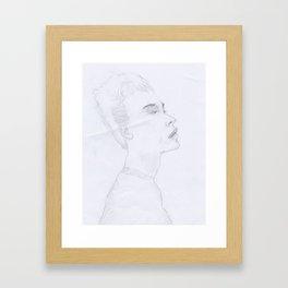 Profile #1 Framed Art Print