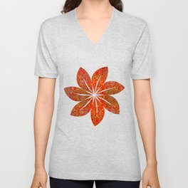 Abstract sparkle beautiful samples Unisex V-Neck