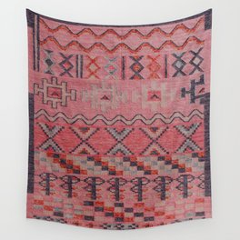 V21 New Traditional Moroccan Design Carpet Mock up. Wall Tapestry