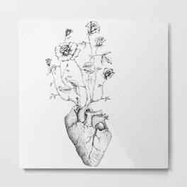 Heart of Roses  Metal Print