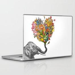 Happy Elephant  Laptop & iPad Skin