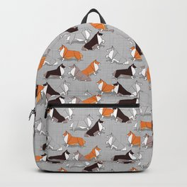 Origami Collie doggie friends Backpack
