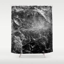 Enigmatic Black Marble #1 #decor #art #society6 Shower Curtain