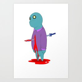 Insensitive Die Art Print