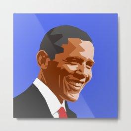 Barack 2 Metal Print