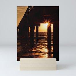 Pier Pressure II Mini Art Print