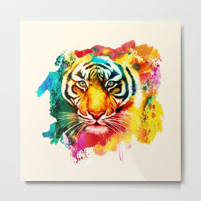 Animal Pattern Metal Print