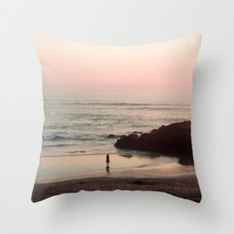she is water Throw Pillow