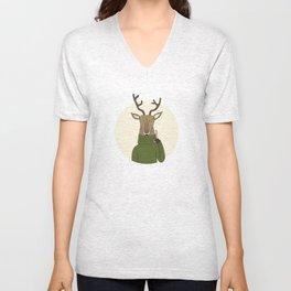 Reindeer Treats Unisex V-Neck