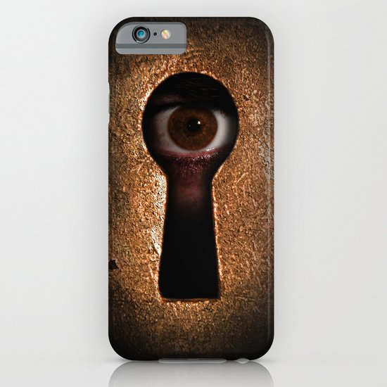 Who is watching you? iPhone & iPod Case