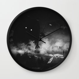 My little monster can't be this cute Wall Clock
