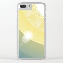 Sunshine Clear iPhone Case