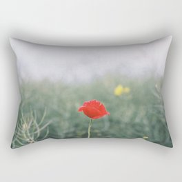 Mohnblume Rectangular Pillow