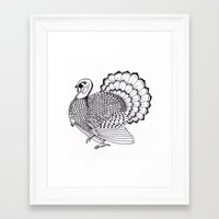 turkey Framed Art Prints featuring Turkey by Martin Stolpe Margenberg
