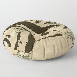 Sleepy Bear Mountain Floor Pillow