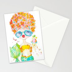 pink lemonade -- sweet, but tart. Stationery Cards