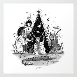 Oh Christmas Tree...!! Art Print