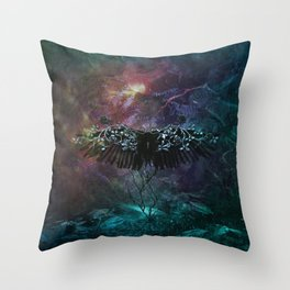Unknown feelings Throw Pillow