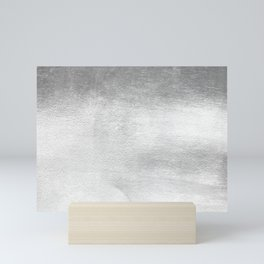 Silver Paint Mini Art Print