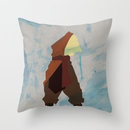 Aang Throw Pillow