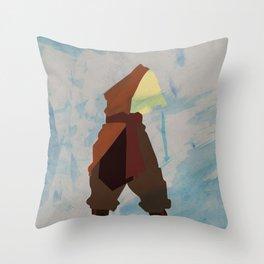 Aang Throw Pillow
