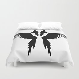 Pica and Pica Duvet Cover