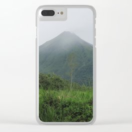 Arenal Volcano Clear iPhone Case