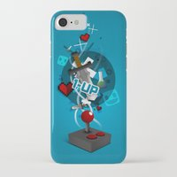 gaming iPhone & iPod Cases featuring I ❤ GAMING by Mikhail St-Denis