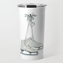 Figure skates Travel Mug