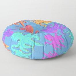 Psychedelic Octopi Floor Pillow
