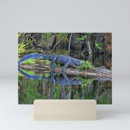 The Gator Mini Art Print